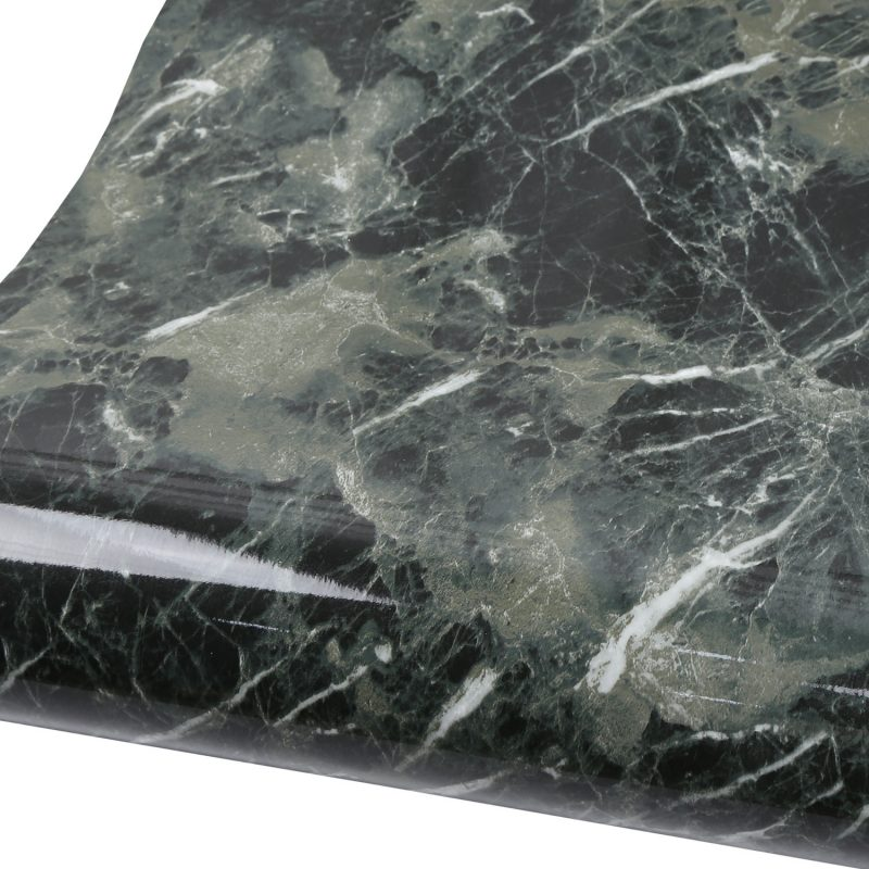 marble contact paper black green granite wallpaper shelf liner