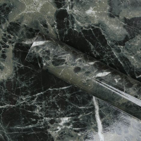 marble contact paper black green granite wallpaper self adhesive