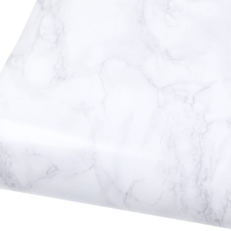 gloss marble contact paper white gray granite wallpaper peel and stick